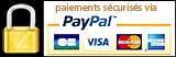 En savoir plus sur le paiement sécurisé Paypal